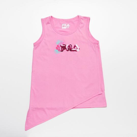 FILA Camiseta Tirantes Rosa Niña (2-8)