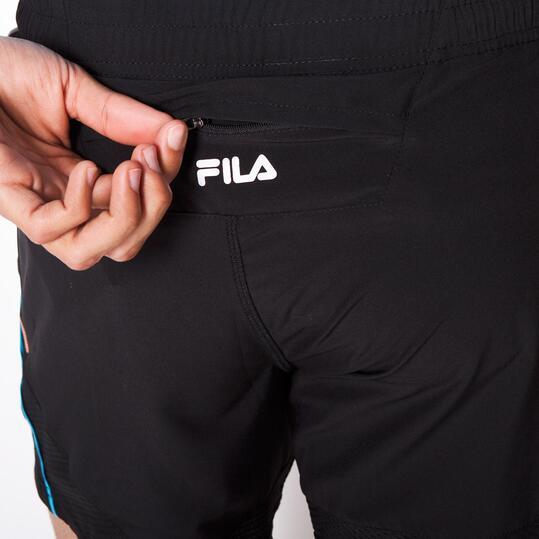 FILA BLAKE Pantalón Corto Running Negro Hombre