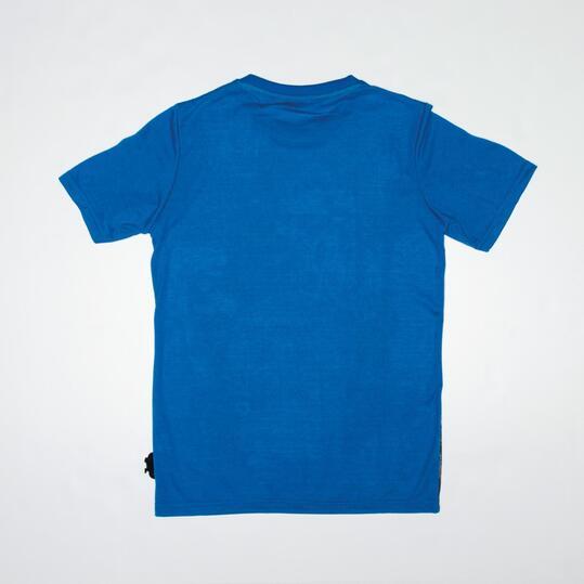 Camiseta SILVER CYCLING Azul Niño (10-16)