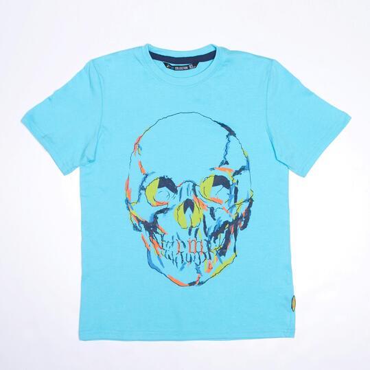 Camiseta Azul SILVER TROPICAL Niño (10-16)