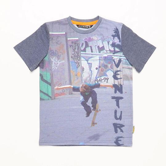 Camiseta Skate SILVER TROPICAL Niño (10-16)