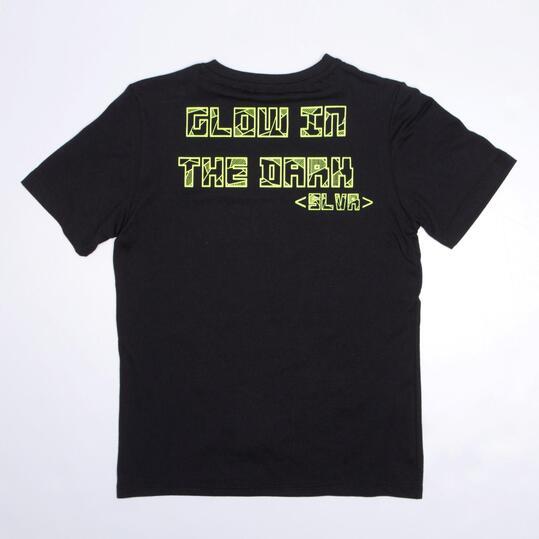 Camiseta SILVER MIMETIC Negro Niño (10-16)