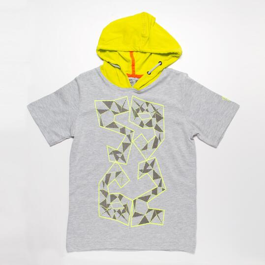 Camiseta Capucha SILVER CYCLING Niño (10-16)