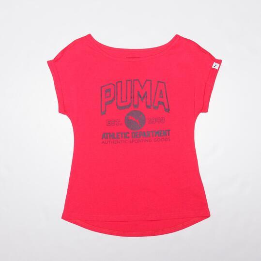 PUMA EXCLUSIVO Camiseta Fucsia Niña (8-16)