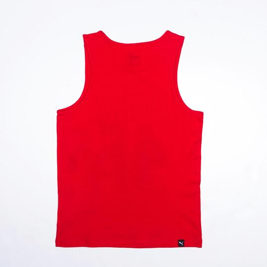 PUMA Camiseta Tirantes Rojo Niño (6-16)