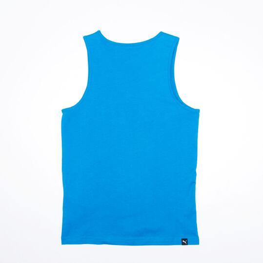 PUMA Camiseta Tirantes Azul Niño (6-16)