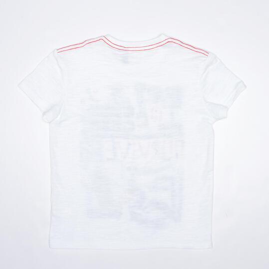 Camiseta Blanca SILVER STAMPS Niño (2-8)