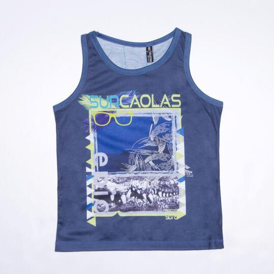 Camiseta Tirantes SILVER SURCAOLAS Niño (2-8)