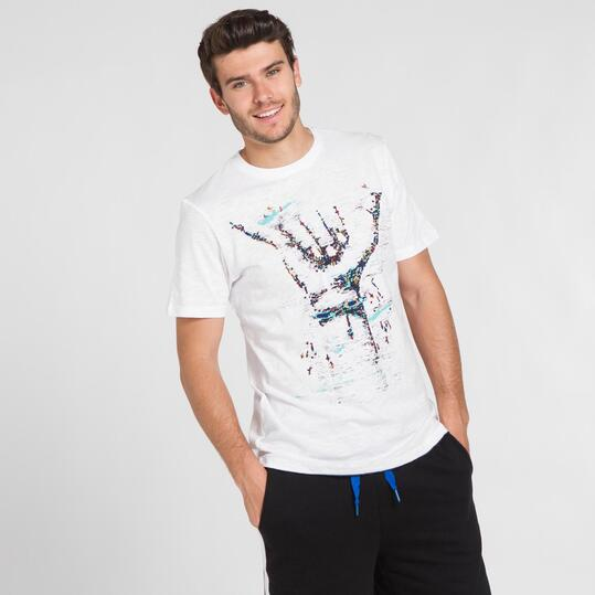 Camiseta Blanca SILVER PEOPLE Hombre