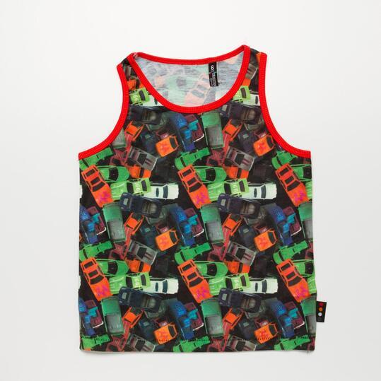 Camiseta Tirantes SILVER COCHES Niño (2-8)