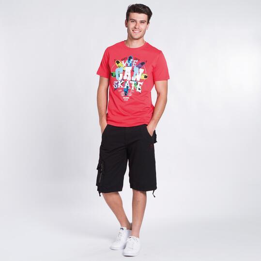 Camiseta Coral SILVER COLOR Hombre