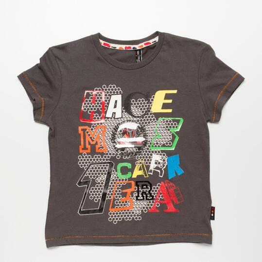 Camiseta Gris SILVER COCHES Niño (2-8)