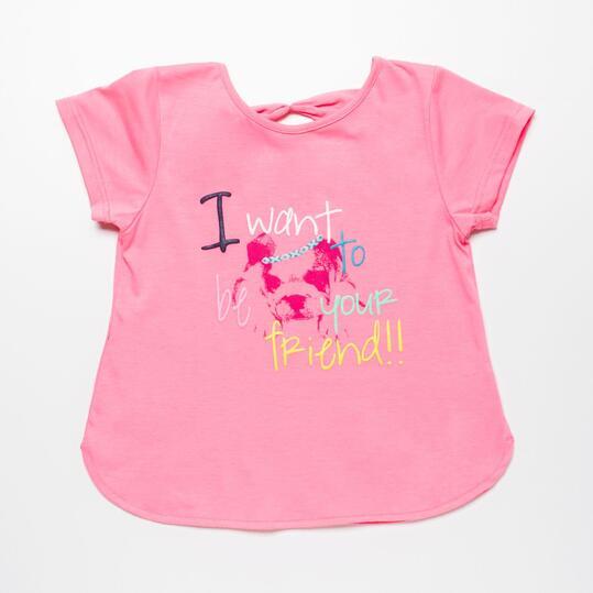 Camiseta Rosa SILVER ETNIC Niña (2-8)
