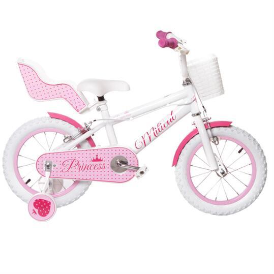 """Bicicleta Niña MÍTICAL PRINCES 14"""" Rosa"""
