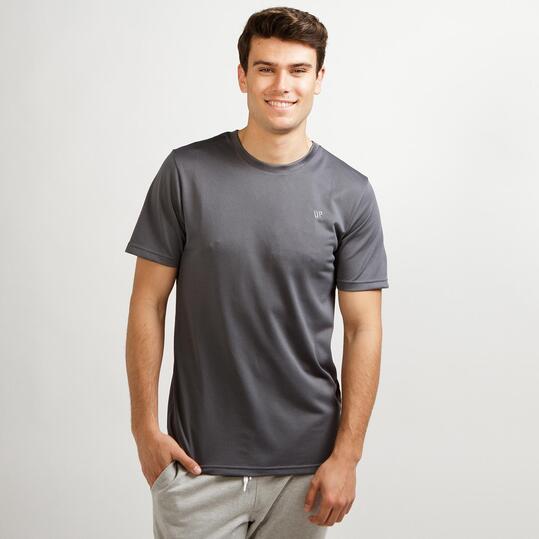 Camiseta Básica Gris UP Hombre