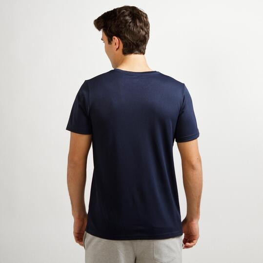 Camiseta Básica Marino UP Hombre