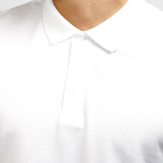 Polo Manga Corta UP Blanco Hombre