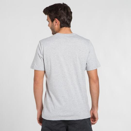 Camiseta Gris SILVER STAMPS Hombre