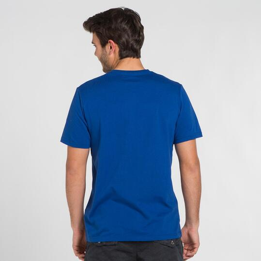 Camiseta Marino SILVER STAMPS Hombre