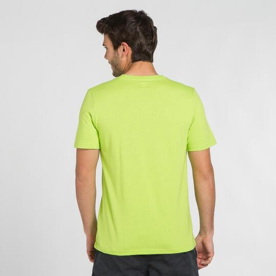 Camiseta Verde SILVER STAMPS Hombre