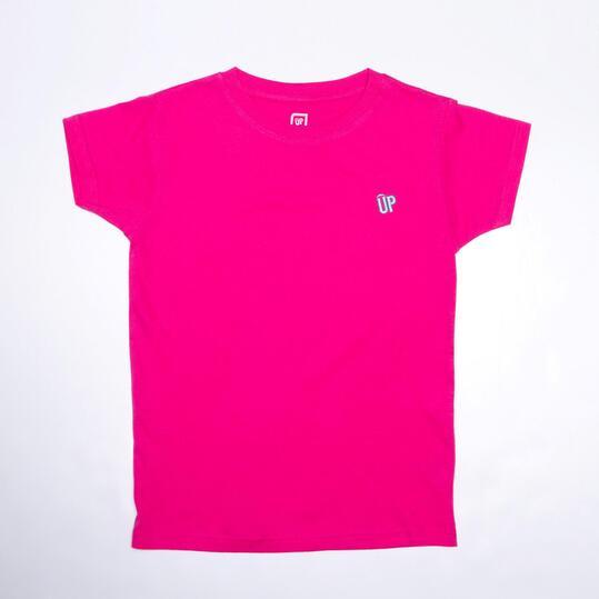 Camiseta Fucsia UP BASIC Niña (10-16)