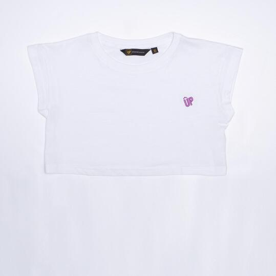 Camiseta Blanca UP BASIC Niña (10-16)