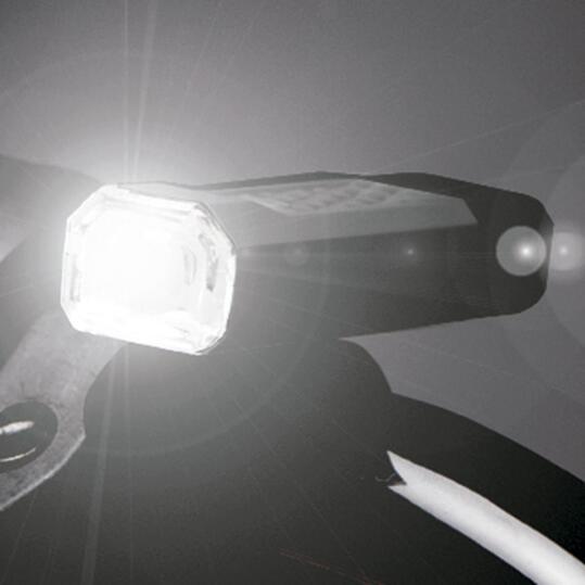 Luz Delantera Bicicleta MÍTICAL Negro