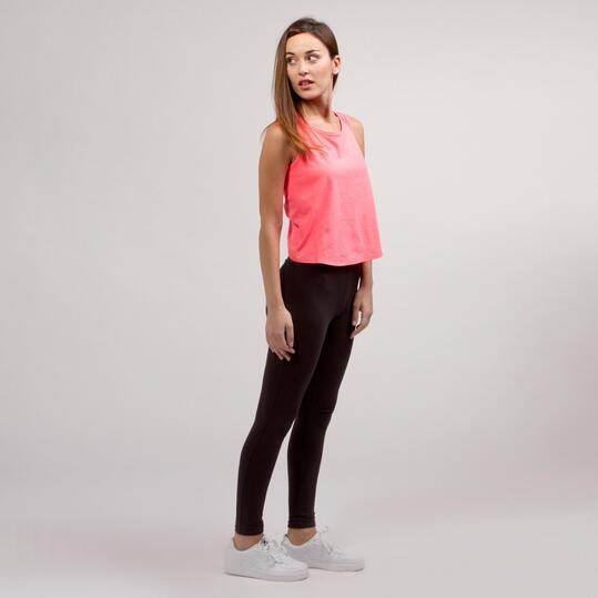 Camiseta Tirante Ancho SILVER BASIC Rosa Mujer