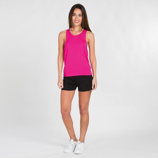 Camiseta Nadadora UP BASICS  Fucsia Mujer