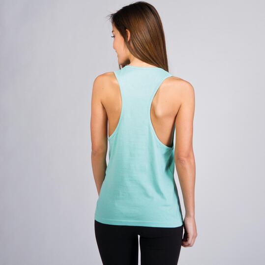 Camiseta Nadadora UP BASICS Turquesa Mujer