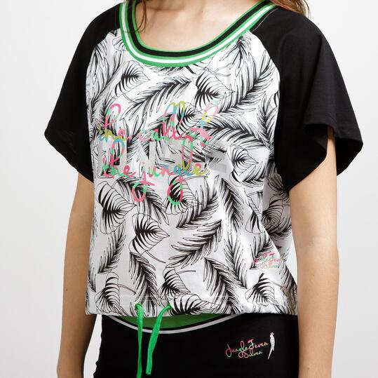 Camiseta Estampada SILVER SELVA Mujer