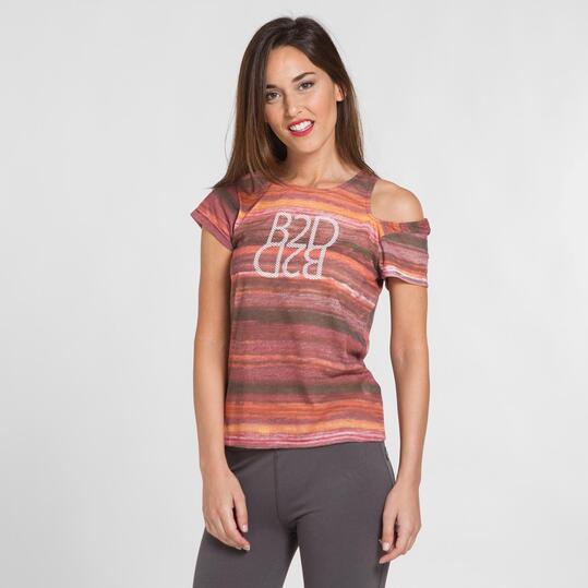 Camiseta Manga Asimétrica SILVER Mujer