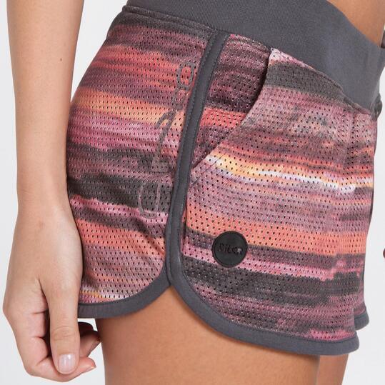 Pantalón Corto Microperforado SILVER Mujer