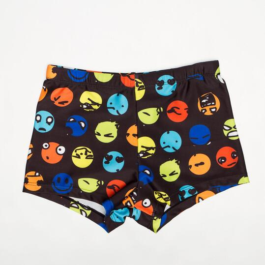 Bañador Bóxer UP SWIM Emoticonos Niño (10-16)