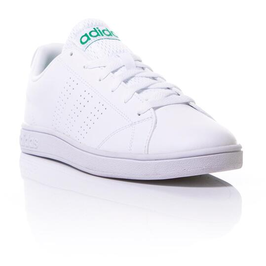 ADIDAS ADVANTAGE Zapatillas Casual Blanco Verde Mujer