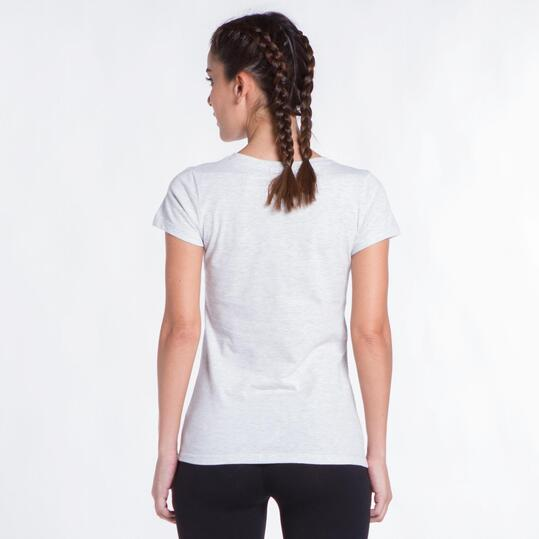 Camiseta Blanca UP STAMPS Helado Mujer