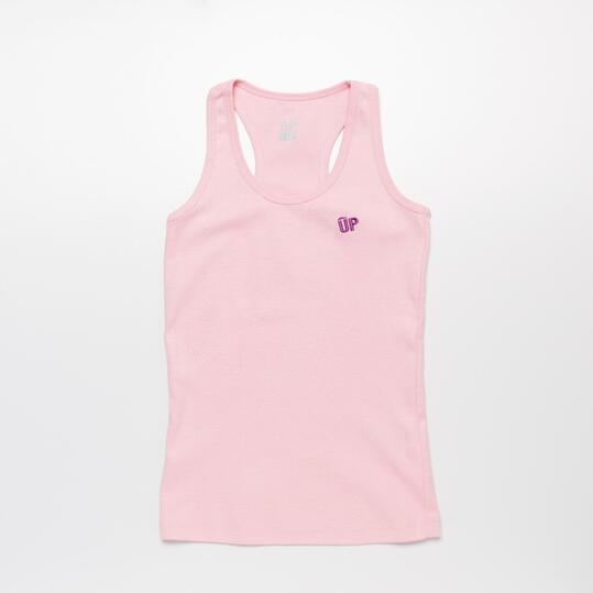 Camiseta Espalda Nadadora UP Rosa Niña (10-16)
