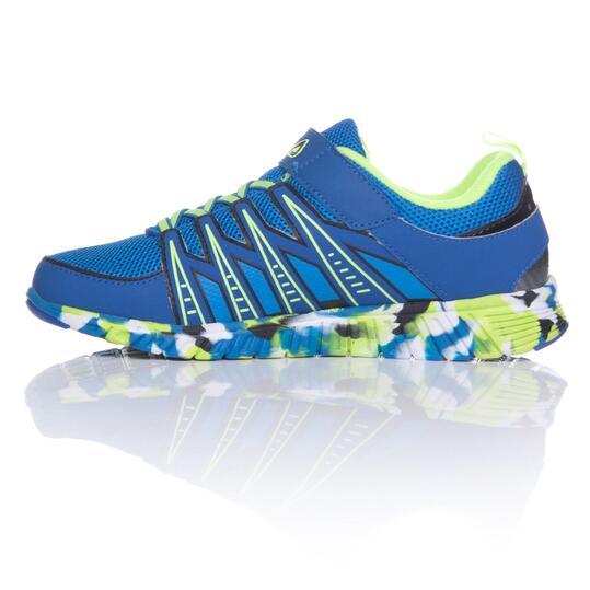 FILA CRATER 5 Zapatillas Running Azules Niño (36-39)