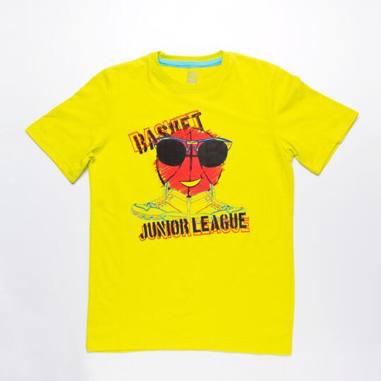 Camiseta Manga Corta UP STAMPS Lima Niño (10-16)