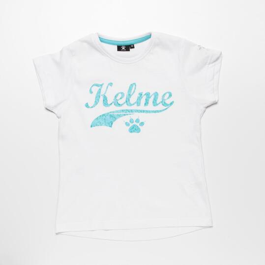 Camiseta Blanca KELME Niña (10-16)