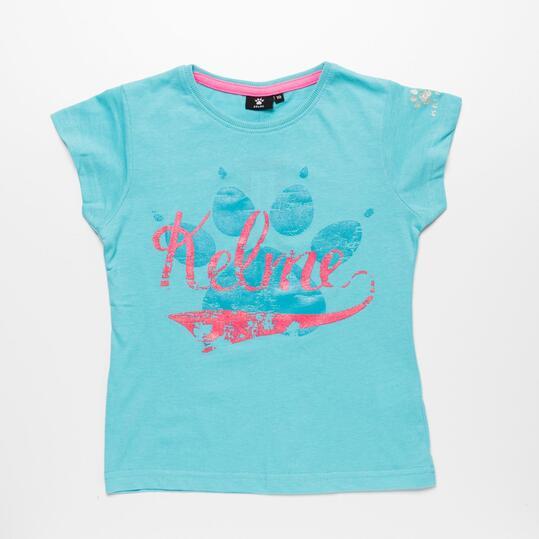 Camiseta Turquesa KELME Niña (10-16)