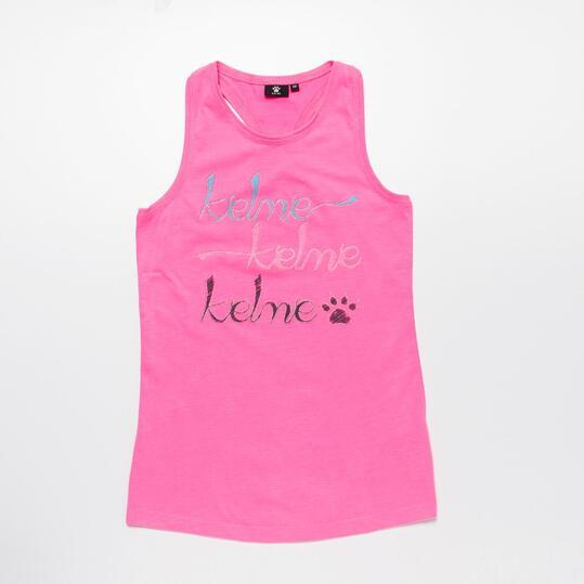 Camiseta Tirantes KELME Fucsia Niña (10-16)