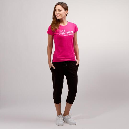 KELME CLASSIC Camiseta Fucsia Mujer