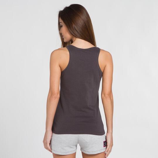 KELME CLASSIC Camiseta Gris Oscuro Mujer