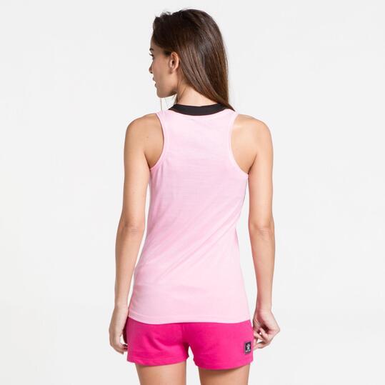 KELME Camiseta Tirantes Rosa Mujer