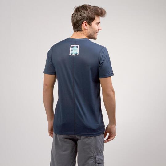 Camiseta Azul Marino SILVER PEOPLE Hombre
