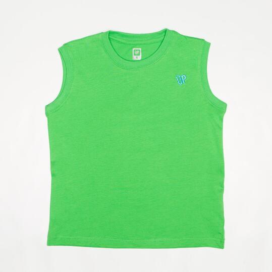 Up Niño2 Verde Basic Sin Camiseta 8Sprinter Manga Ku5TJ3lcF1