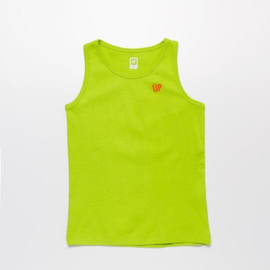 Camiseta Tirantes Pistacho UP BASIC Niño (2-8)
