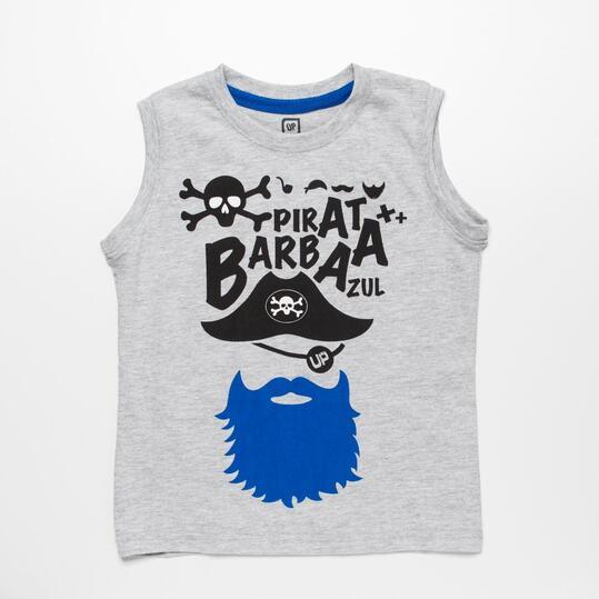 Camiseta Pirata UP BASIC Niño (2-8)