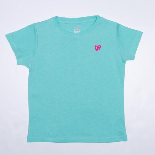 Camiseta Turquesa UP BASIC Niña (2-8)